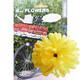 Basil Flower Dahlia für Lenker und Rahmen Gelb